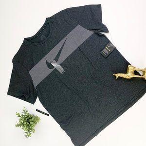Nike Men's Charcoal Grey Tee